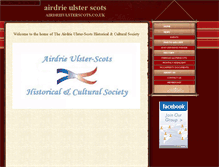 Tablet Preview of airdrieulsterscots.co.uk
